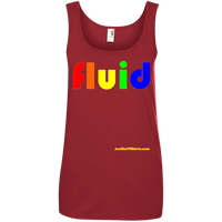 Fluid - 882L Anvil Ladies' 100% Ringspun Cotton Tank Top