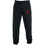 Rob Lightner Red Logo 4850MP Jerzees Sweatpants with Pockets
