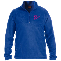 Rob Lightner Pink Logo M980 Harriton 1/4 Zip Fleece Pullover