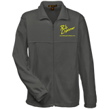 Rob Lightner Yellow Logo M990 Harriton Fleece Full-Zip