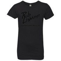2018 Rob Lightner Summer Tour Black Logo NL3710 Next Level Girls' Princess T-Shirt