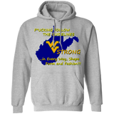 F*CKING FOLLOW the GUIDELINES WV Strong - G185 Pullover Hoodie 8 oz.