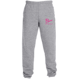 Rob Lightner Pink Logo 4850MP Jerzees Sweatpants with Pockets