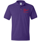 Rob Lightner Red Logo G880 Gildan Jersey Polo Shirt