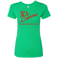 2019 Rob Lightner Summer Tour Pink Logo NL6710 Next Level Ladies' Triblend T-Shirt