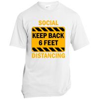 Social Distancing - USA100 Made in the USA Unisex T-Shirt