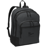 Rob Lightner Black Logo BG204 Port Authority Basic Backpack
