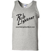 2018 Rob Lightner Summer Tour Black Logo G220 Gildan 100% Cotton Tank Top