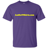 AssHatTShirts.com Yellow Logo - G200 Gildan Ultra Cotton T-Shirt