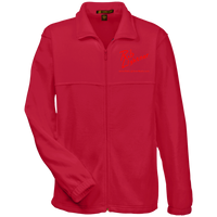 Rob Lightner Red Logo M990 Harriton Fleece Full-Zip