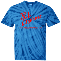 2018 Rob Lightner Summer Tour Red Logo CD100 100% Cotton Tie Dye T-Shirt