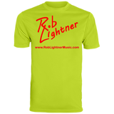 2019 Rob Lightner Summer Tour Pink Logo 790 Augusta Men's Wicking T-Shirt