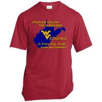 F*CKING FOLLOW the GUIDELINES WV Strong - USA100 Made in the USA Unisex T-Shirt