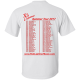 Rob Lightner - 2017 Summer Tour - G200 Gildan Ultra Cotton T-Shirt