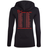 Rob Lightner 2017 Summer Tour - 887L Anvil Ladies' LS T-Shirt Hoodie