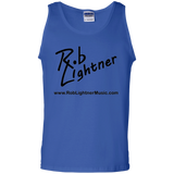 Rob Lightner Logo Icon - G220 Gildan 100% Cotton Tank Top