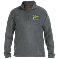 Rob Lightner Yellow Logo M980 Harriton 1/4 Zip Fleece Pullover