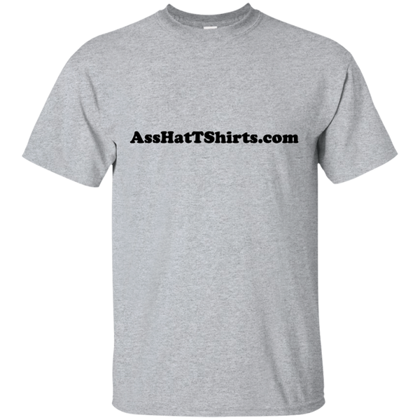 AssHatTShirts.com Black Logo - G200 Gildan Ultra Cotton T-Shirt