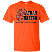 Nathan Shaffer 2018 Summer Tour G200B Gildan Youth Ultra Cotton T-Shirt