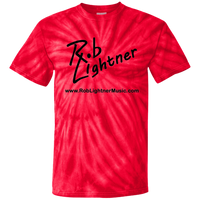 2018 Rob Lightner Summer Tour Black Logo CD100Y Youth Tie Dye T-Shirt