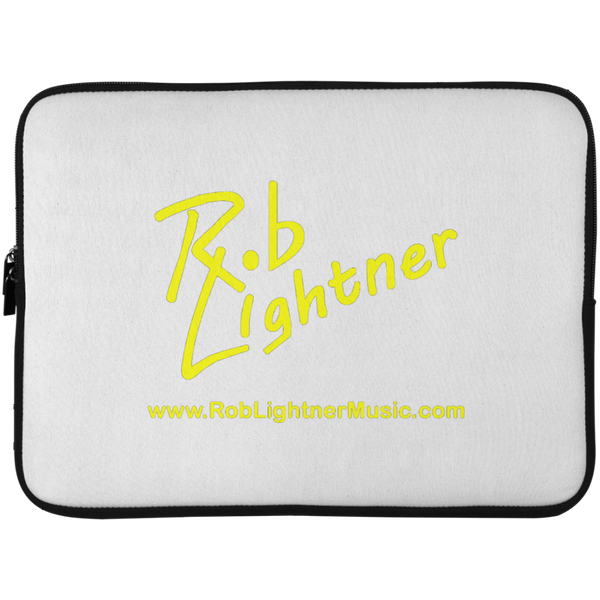 Rob Lightner Yellow Logo Laptop Sleeve - 15 Inch