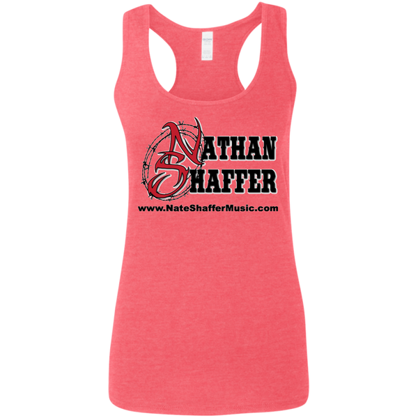 Nathan Shaffer 2018 Summer Tour G645RL Gildan Ladies' Softstyle Racerback Tank