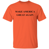 Make America Great Again - Black Print G500 Gildan 5.3 oz. T-Shirt