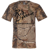2019 Rob Lightner Summer Tour Black Logo 3980 Code V Short Sleeve Camouflage T-Shirt