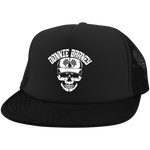 Donnie Barney White Logo DT624 Trucker Hat with Snapback