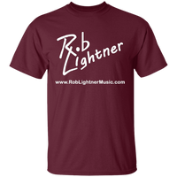 Rob Lightner White Logo G500 Gildan 5.3 oz. T-Shirt