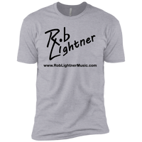 2018 Rob Lightner Summer Tour Black Logo NL3310 Next Level Boys' Cotton T-Shirt