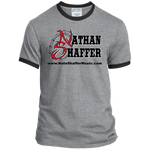 Nathan Shaffer 2018 Summer Tour PC54R Port & Co. Ringer Tee