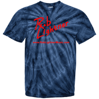2019 Rob Lightner Summer Tour Pink Logo CD100Y Youth Tie Dye T-Shirt