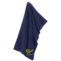 Rob Lightner Yellow Logo TW530 Port Authority Microfiber Golf Towel