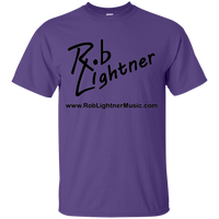 2018 Rob Lightner Summer Tour Black Logo G200B Gildan Youth Ultra Cotton T-Shirt