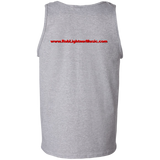 Rob Lightner Red Logo - G220 Gildan 100% Cotton Tank Top