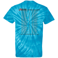 Nathan Shaffer 2018 Summer Tour CD100Y Youth Tie Dye T-Shirt