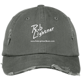 Rob Lightner White Logo DT600 District Distressed Dad Cap