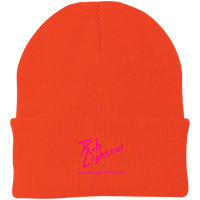 Rob Lightner Pink Logo CP90 Port Authority Knit Cap