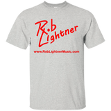 2019 Rob Lightner Summer Tour Red Logo G200 Gildan Ultra Cotton T-Shirt