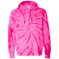 Rob Lightner Red Logo CD877 Tie-Dyed Pullover Hoodie