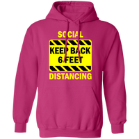 Social Distancing - G185 Pullover Hoodie 8 oz.
