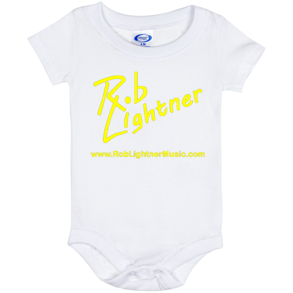 Rob Lightner Yellow Logo Baby Onesie 6 Month
