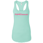 FUC< Cancer NL1533 Next Level Ladies Ideal Racerback Tank