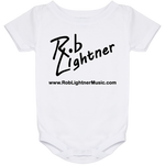 Rob Lightner Black Logo Baby Onesie 24 Month