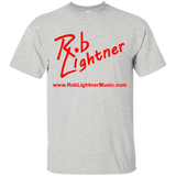 2018 Rob Lightner Summer Tour Red Logo G200B Gildan Youth Ultra Cotton T-Shirt