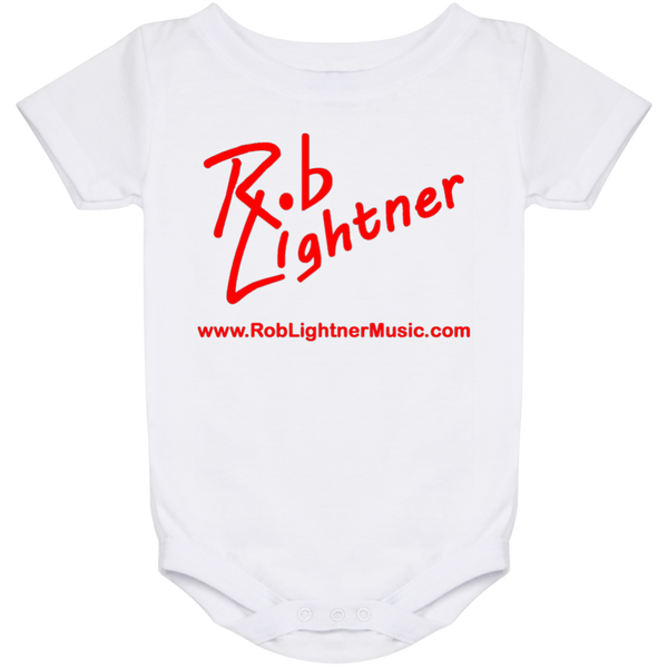 Rob Lightner Red Logo Baby Onesie 24 Month