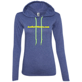 AssHatTShirts.com Yellow Logo 887L Anvil Ladies' LS T-Shirt Hoodie