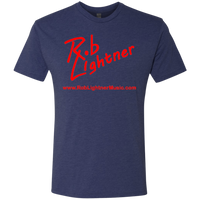 2019 Rob Lightner Summer Tour Pink Logo NL6010 Next Level Men's Triblend T-Shirt