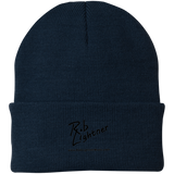 Rob Lightner Black Logo CP90 Port Authority Knit Cap